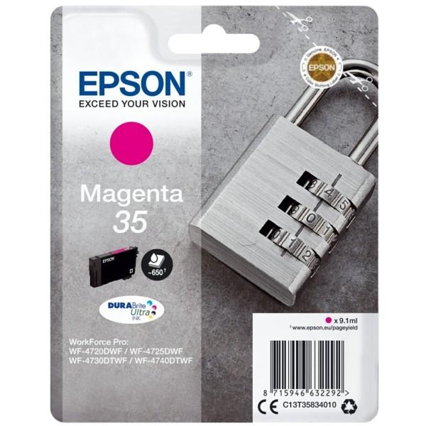 Original Epson C13T35834010 / 35 Tintenpatrone magenta 9,1 ml 650 Seiten