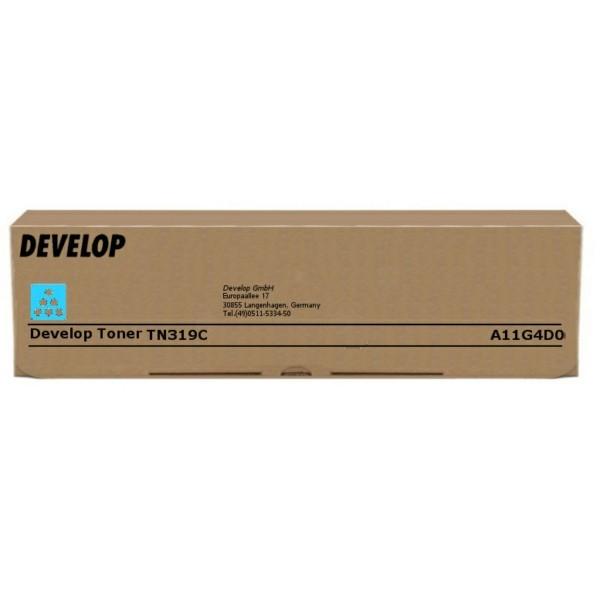 Original Develop A11G4D0 / TN-319 C Toner cyan 26.000 Seiten