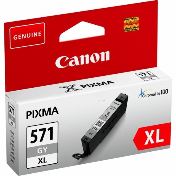 Original Canon 0335C001 / CLI-571 GYXL Tintenpatrone grau 11 ml 3.350 Seiten