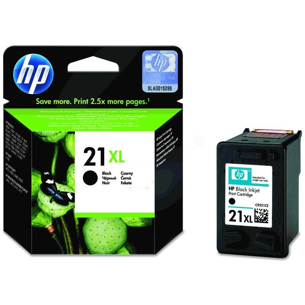 Original HP C9351CE / 21XL Druckkopfpatrone schwarz High-Capacity 12 ml 475 Seiten