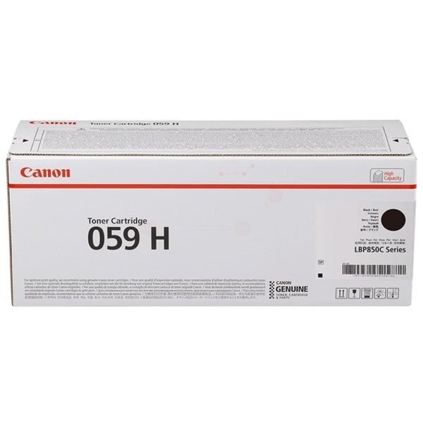 Original Canon 3627C001 / 059 H Toner schwarz 15.500 Seiten