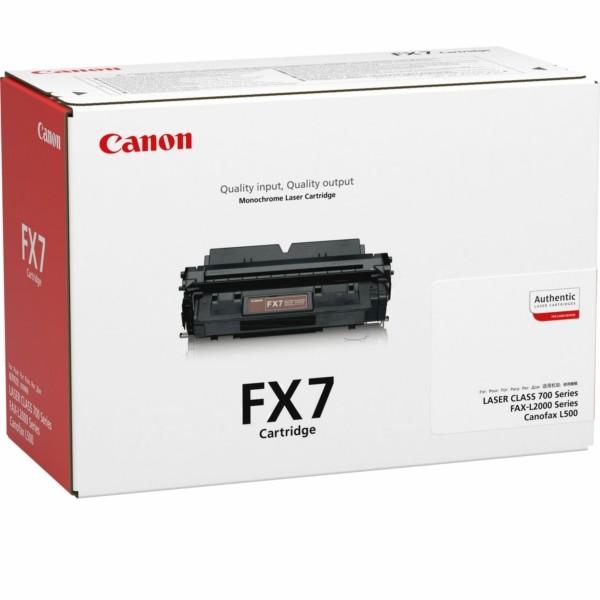 Original Canon 7621A002 / FX-7 Tonerkartusche schwarz 4.500 Seiten