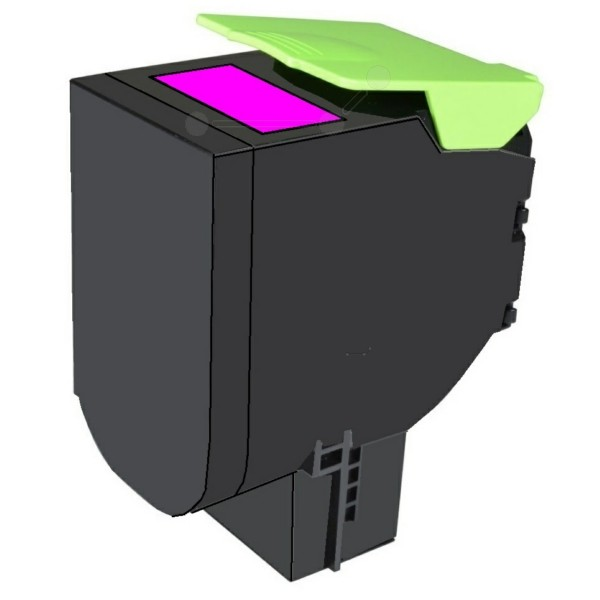 Original Lexmark 80C2HM0 / 802HM Toner-Kit magenta return program 3.000 Seiten