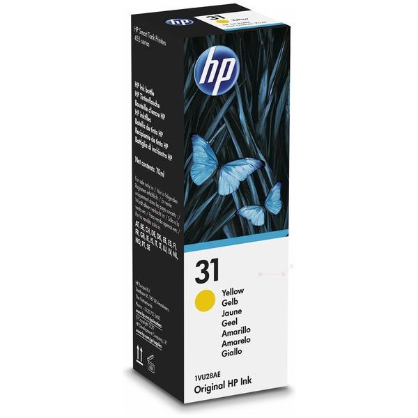 Original HP 1VU28AE / 31 Tintenpatrone gelb 70 ml 8.000 Seiten