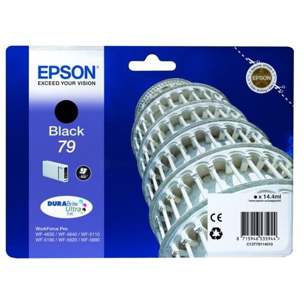 Original Epson C13T79114010 / 79 Tintenpatrone schwarz 14,4 ml 900 Seiten