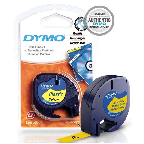Original Dymo 91202 / S0721620 DirectLabel-Etiketten Polyester gelb
