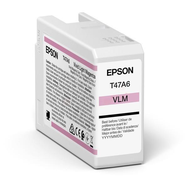 Original Epson C13T47A600 / T47A6 Tintenpatrone magenta hell 50 ml