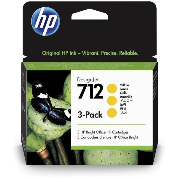 Original HP 3ED79A / 712 Tinte yellow 29 ml