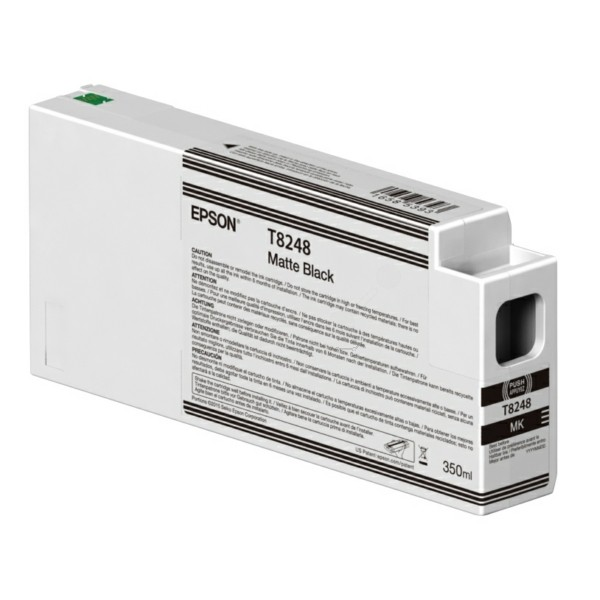 Original Epson C13T824800 / T8248 Tintenpatrone schwarz matt 350 ml