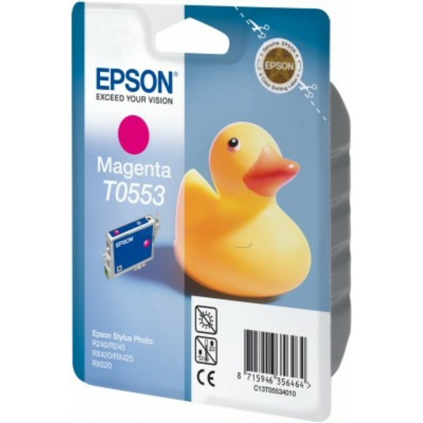 Original Epson C13T05534010 / T0553 Tintenpatrone magenta 8 ml 290 Seiten
