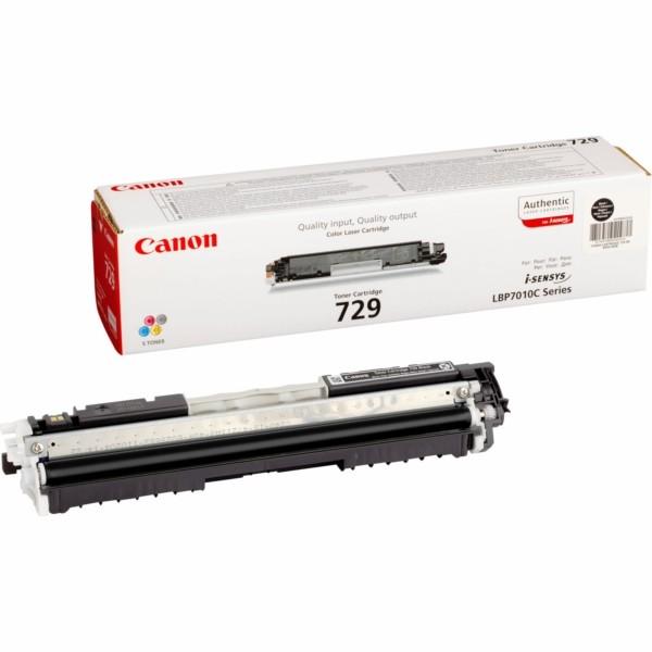 Original Canon 4370B002 / 729 BK Toner schwarz 1.200 Seiten