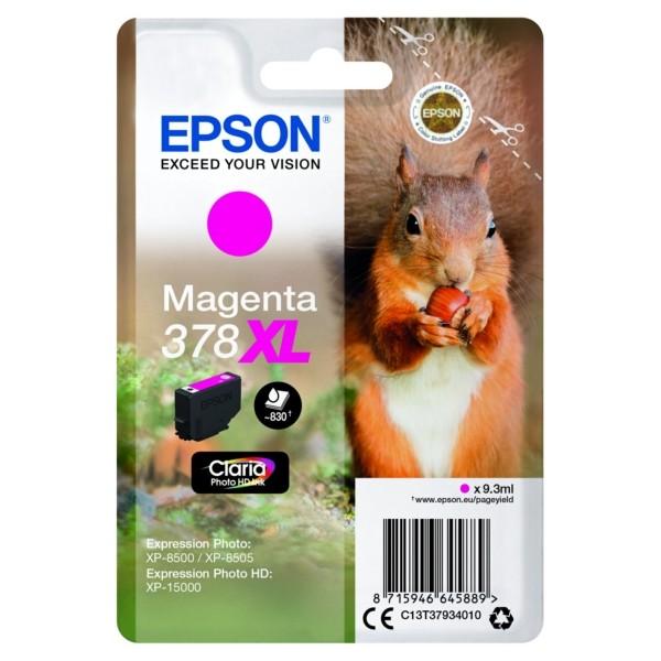Original Epson C13T37934010 / 378XL Tintenpatrone magenta 9,3 ml 830 Seiten