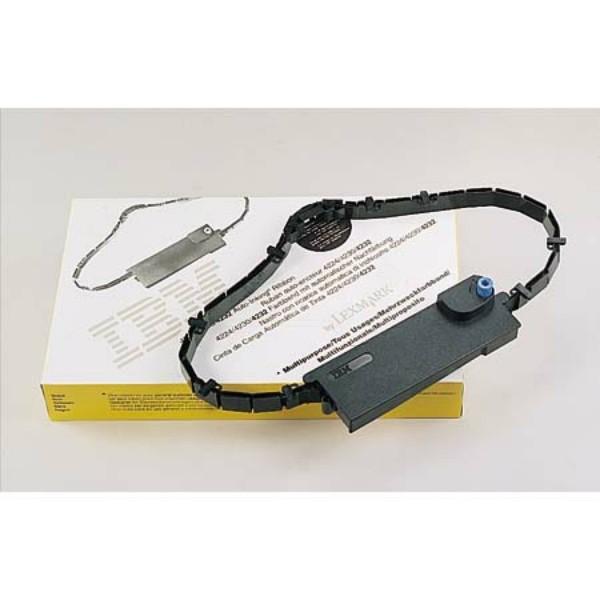Original Lexmark 1040580 Nylonband mit Nachtränksystem schwarz