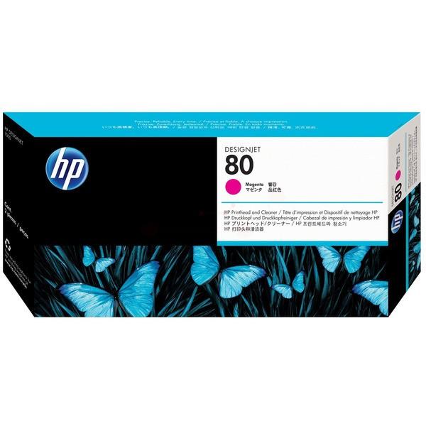 Original HP C4822A / 80 Druckkopf magenta 17 ml 2.500 Seiten