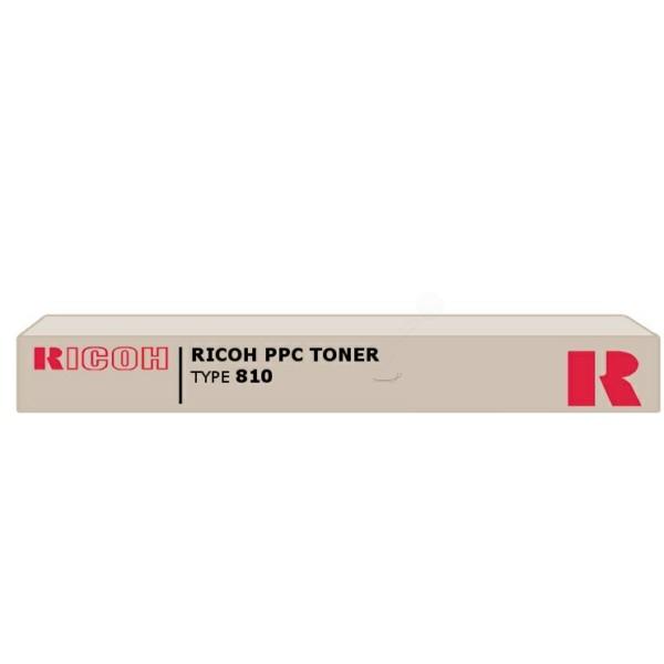 Original Ricoh 887447 / TYPE 810 Toner schwarz 1.600 Seiten