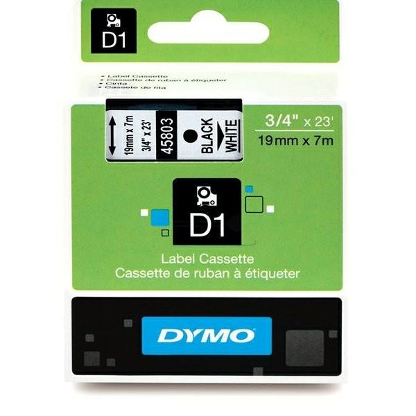 Original Dymo 45803 / S0720830 DirectLabel-Etiketten schwarz auf weiss