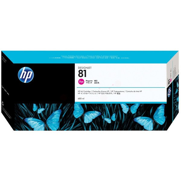 Original HP C4932A / 81 Tintenpatrone magenta 680 ml 1.400 Seiten
