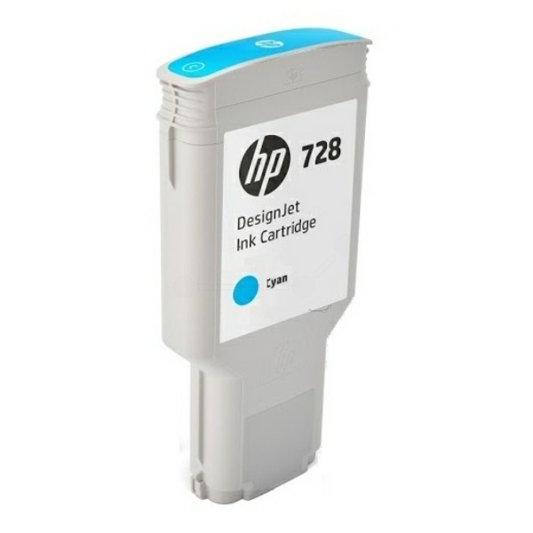 Original HP F9K17A / 728 Tintenpatrone cyan 300 ml