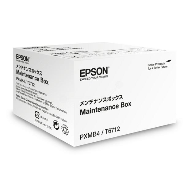 Original Epson C13T671200 / T6712 Resttintenbehälter 75.000 Seiten