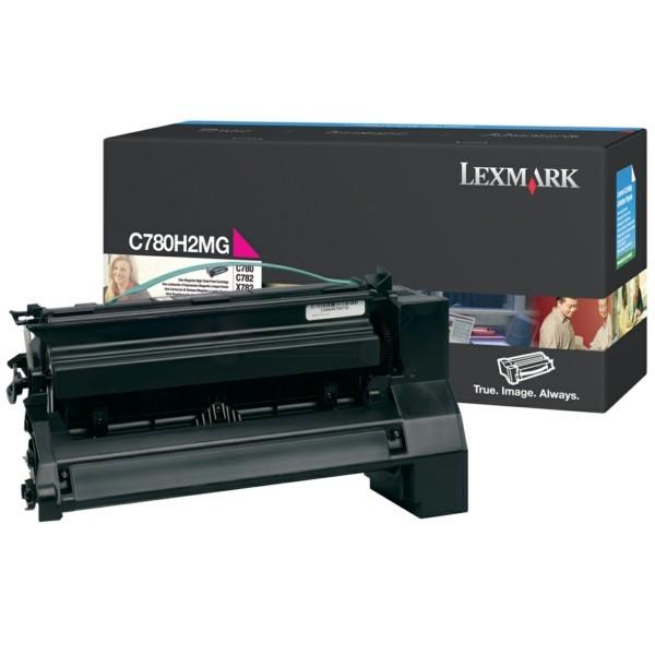 Original Lexmark C780H2MG Tonerkartusche magenta 10.000 Seiten