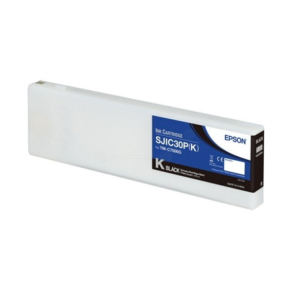 Original Epson C33S020639 / SJIC-30-P-K Tintenpatrone schwarz 295,2 ml