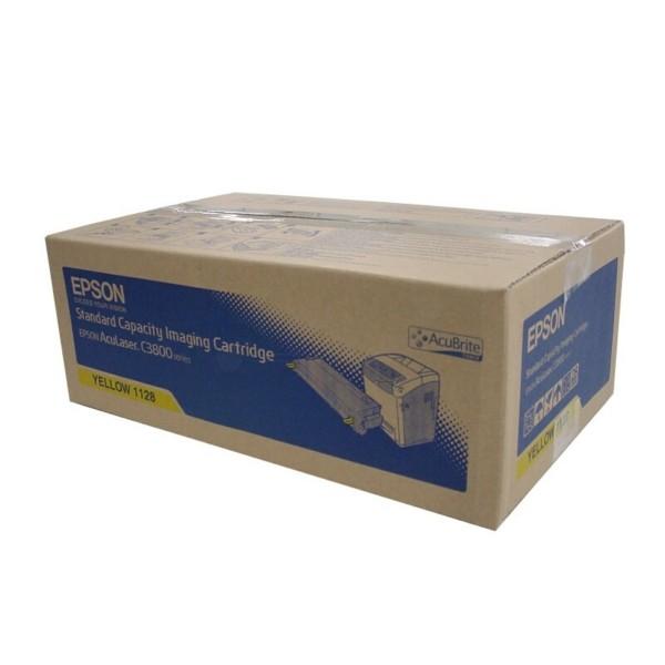 Original Epson C13S051128 / 1128 Tonerkartusche gelb 5.000 Seiten
