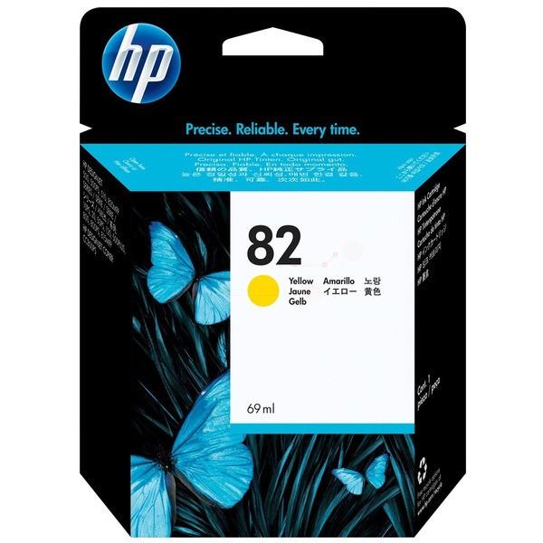 Original HP C4913A / 82 Tintenpatrone gelb 69 ml 4.300 Seiten
