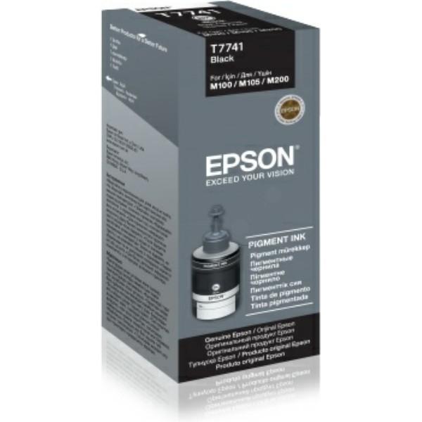 Original Epson C13T774140 / T7741 Tintenpatrone schwarz 140 ml 6.000 Seiten