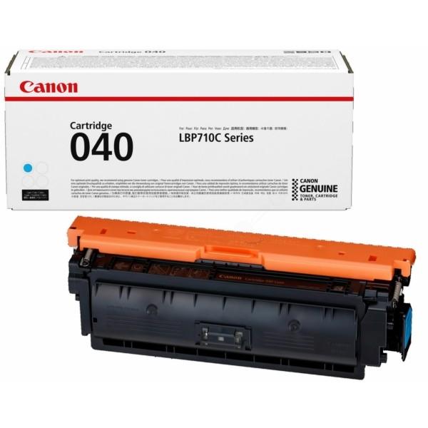 Original Canon 0458C001 / 040 C Tonerkartusche cyan 5.400 Seiten