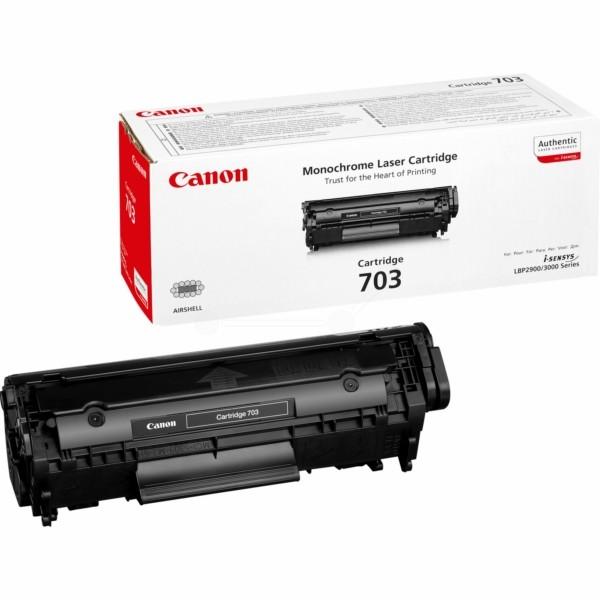 Original Canon 7616A005 / 703 Tonerkartusche schwarz 2.000 Seiten