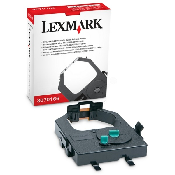 Original Lexmark 3070166 Nylonband mit Nachtränksystem schwarz