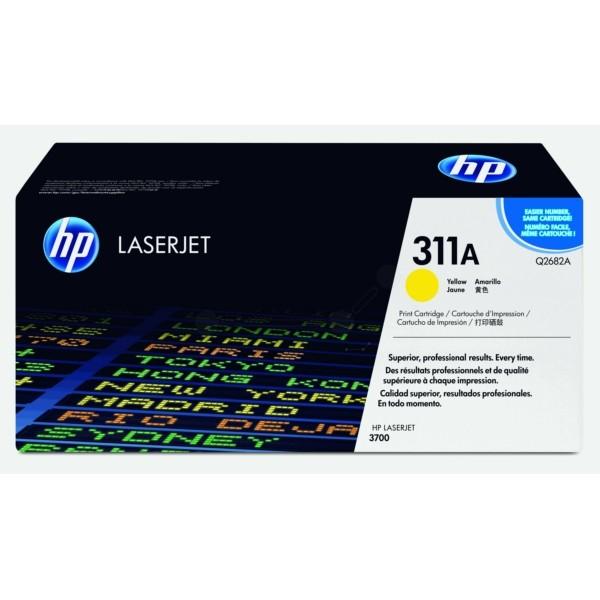 Original HP Q2682A / 311A Tonerkartusche gelb 6.000 Seiten