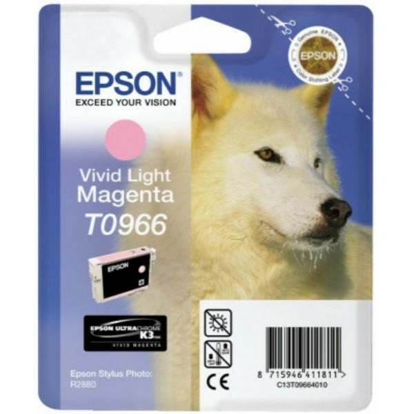 Original Epson C13T09664010 / T0966 Tintenpatrone magenta hell 11,4 ml 865 Seiten