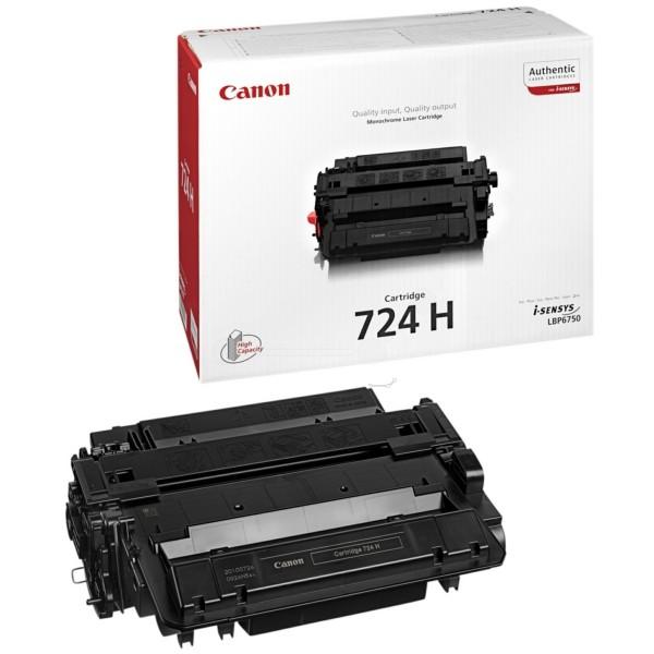 Original Canon 3482B002 / 724H Tonerkartusche schwarz 12.500 Seiten