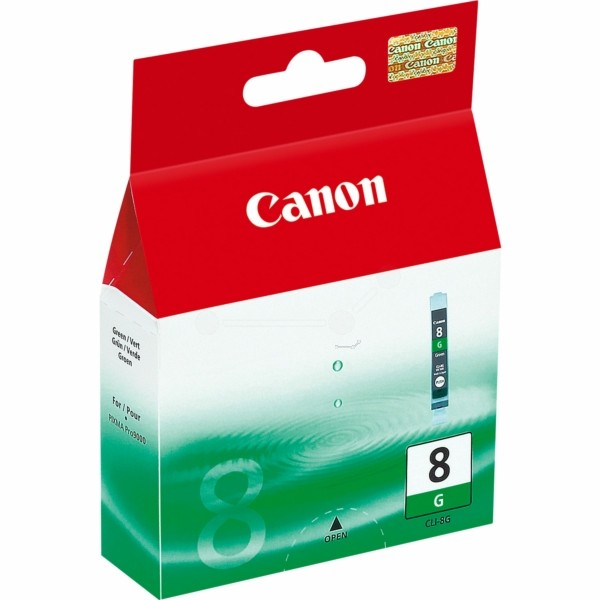 Original Canon 0627B001 / CLI-8 G Tintenpatrone grün 13 ml 5.845 Seiten