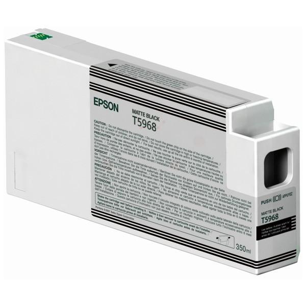 Original Epson C13T596800 / T5968 Tintenpatrone schwarz matt 350 ml