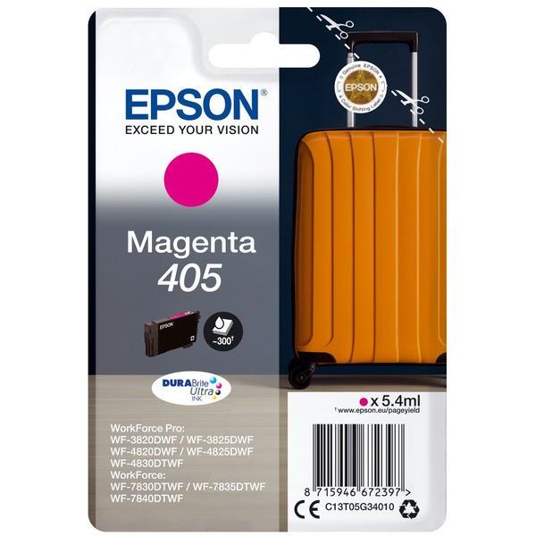 Original Epson C13T05G34010 / 405 Tintenpatrone magenta 5,4 ml 300 Seiten