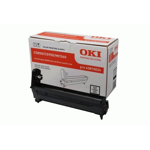Original OKI 43870024 Drum Kit schwarz 20.000 Seiten