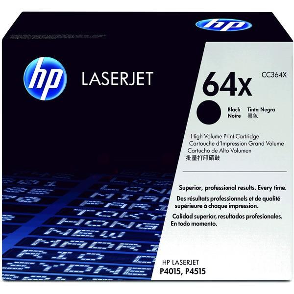 Original HP CC364X / 64X Tonerkartusche schwarz 24.000 Seiten