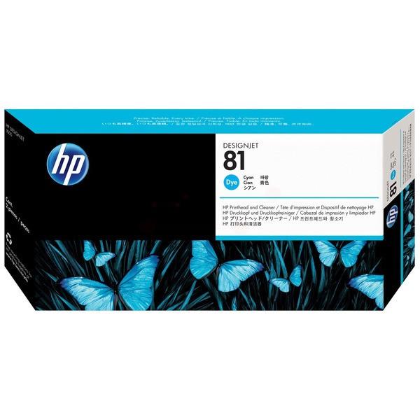 Original HP C4951A / 81 Druckkopf cyan 13 ml