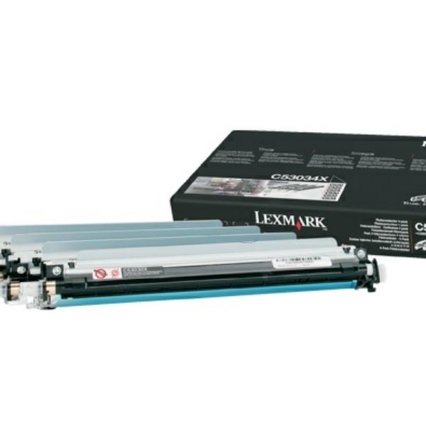 Original Lexmark C53034X Drum Kit schwarz cyan magenta gelb 20.000 Seiten
