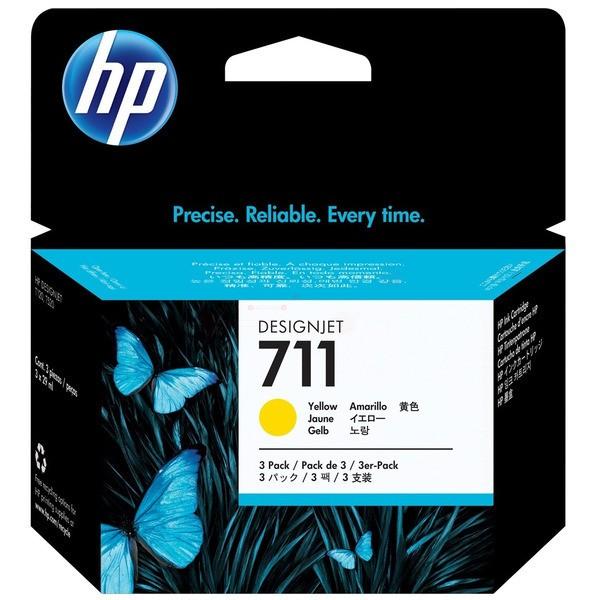 Original HP CZ136A / 711 Tintenpatrone gelb 29 ml