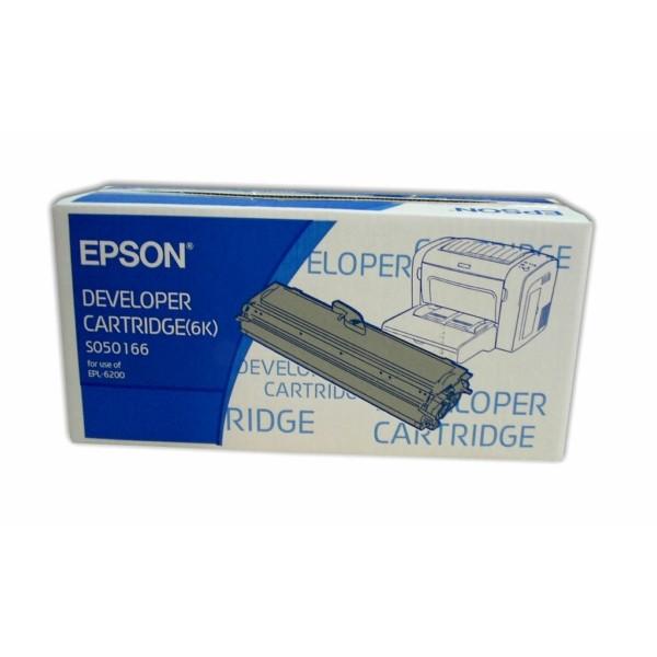 Original Epson C13S050166 / S050166 Toner-Kit 6.000 Seiten