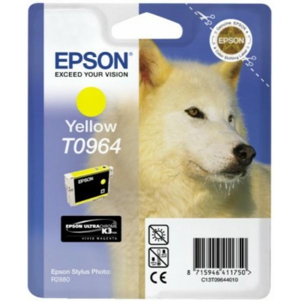 Original Epson C13T09644010 / T0964 Tintenpatrone gelb 11,4 ml 890 Seiten