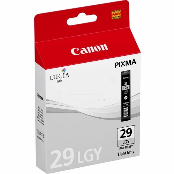 Original Canon 4872B001 / PGI-29 LGY Tintenpatrone fotograu 36 ml 1.320 Seiten