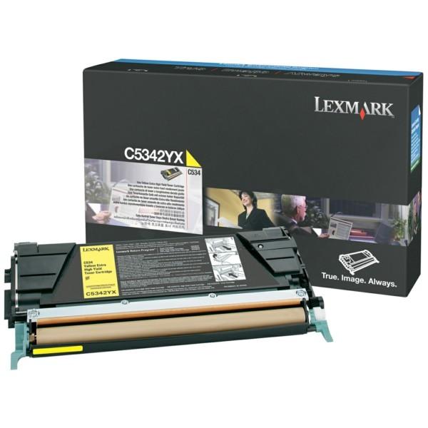 Original Lexmark C5342YX Toner-Kit gelb 7.000 Seiten