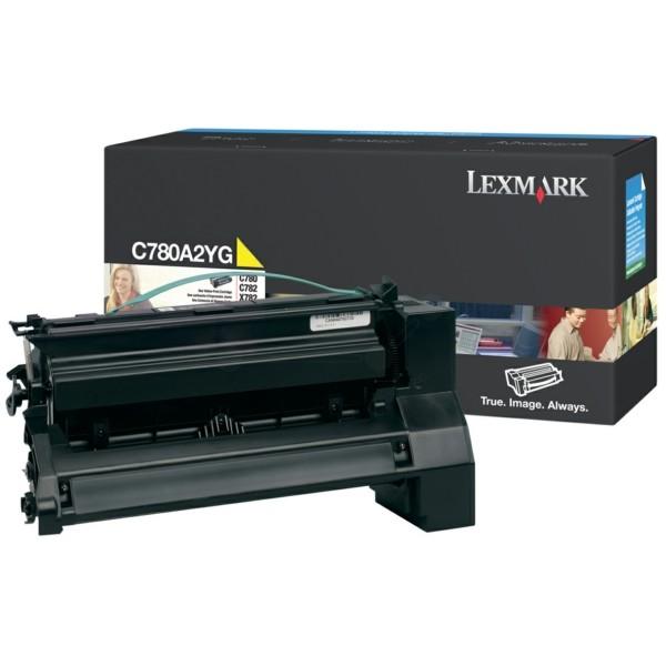 Original Lexmark C780A2YG Tonerkartusche gelb 6.000 Seiten