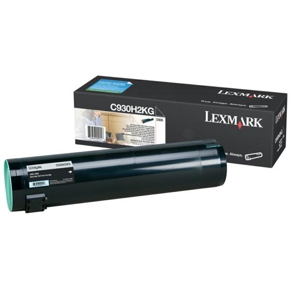 Original Lexmark C930H2KG Toner schwarz 38.000 Seiten