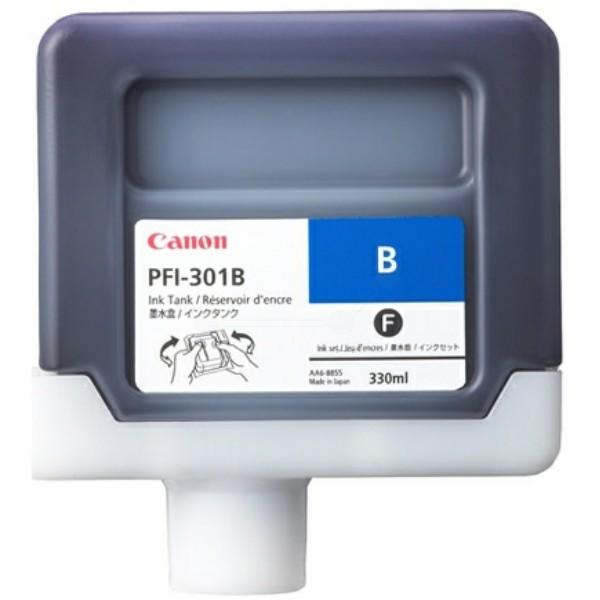 Original Canon 1494B001 / PFI-301 B Tintenpatrone blau 330 ml