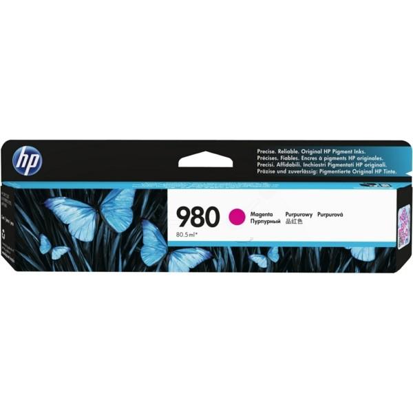 Original HP D8J08A / 980 Tintenpatrone magenta 80,5 ml 6.600 Seiten
